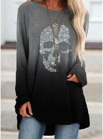 Sequins Long Sleeves Sweatshirt