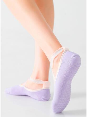 Solid Color Breathable/Non Slip/No Show Socks Socks