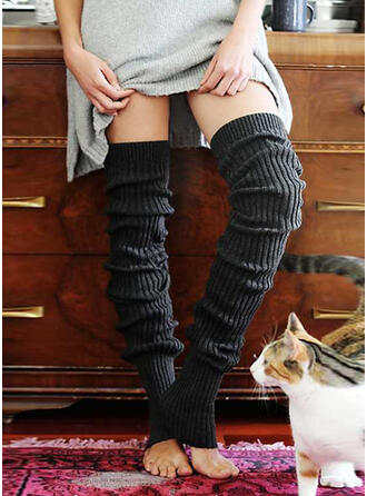 Solid Color Warm/Breathable/Comfortable/Knee-High Socks Socks/Stockings