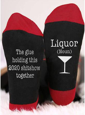 Letter/Print Breathable/Comfortable/Crew Socks Socks
