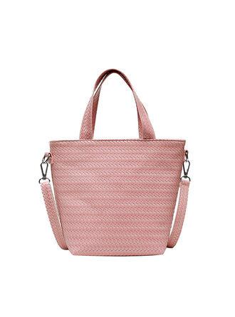 Delicate/Commuting/Solid Color/Braided Tote Bags/Crossbody Bags/Shoulder Bags/Beach Bags/Bucket Bags/Hobo Bags