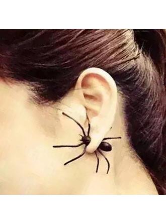Halloween Spider Alloy Earrings 1 PC